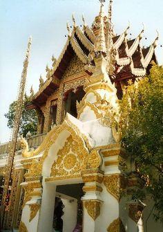 Buddist Temple Near Chiang Mai - Thailand