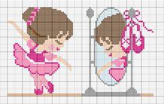 Cross Stitch Charts, Cross Stitch Patterns, Embroidery Patterns, Hand Embroidery, Balerina, Fashion Sewing, C2c, Hama Beads, Cross Stitching