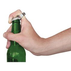 These cool looking brushed stainless steel rings are also a handy bottle opener! Use to open bottles of beer and soft drinks. Perfect gift for your father, and great helper for your party,dancing ball or club. Stainless Steel Rings, Brushed Stainless Steel, Bottle Opener Ring, Bottle Openers, Floating Drink Holder, Great Gifts For Dad, Summer Gifts, Open Ring, Rings Cool