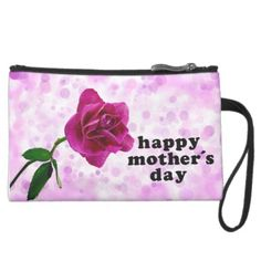 """Happy Mother's Day with Pink Rose Clutch for Mom """"Are you looking for Monogram bags set to you can custom your own name, text, letter, photo, design, illustration, clipart, vector you love? This is Monogram bags set: Personalized Bags, Monogram bags for Accessory Bags, Backpacks, Wristlets, Clutches, Cosmetic Bags, Reusable Bags, Gym, Handbags, Laptop, Messenger, Luggage, Tote. . Custom your own teenagers, girls artwork, design, photo, illustration with Custom Monogram Bags Set. Check out…"""
