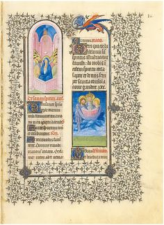 """The Belles Heures of Jean de France, Duc de Berry (image 90) 