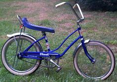Vintage Bicycle Picture Database - Rollfast Skoot Musclebike