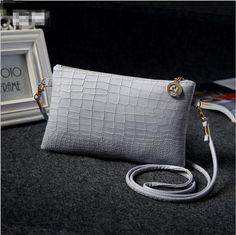 56b94704c6 Fashion solid women s clutch bag Vintage leather women envelope bag clutch  evening bag female Clutches Handbag Bolsos Bolsas