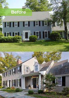 colonial house colors exterior | Home colonial exterior Design ...