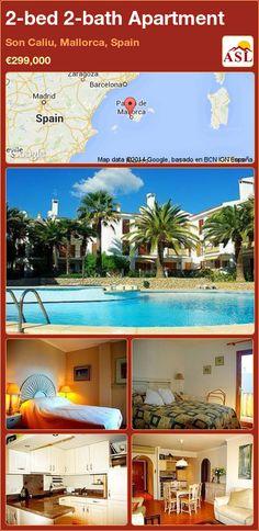 2-bed 2-bath Apartment in Son Caliu, Mallorca, Spain ►€299,000 #PropertyForSaleInSpain