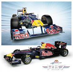Our 17 Scale Red Bull RB7 RC Model Comes With A Rugged Lexan Body