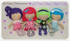 $32.50 New Lil' Miss Fancy Pants Doll