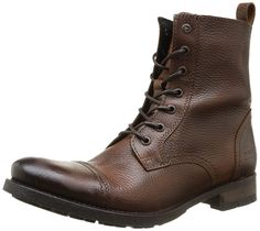 JACK   JONES Jj Savek Leather Boot Prm, Herren Bootsschuhe, Braun (Brown  Stone), 46 EU (12 Herren UK)  Amazon.de  Schuhe   Handtaschen 6fe5c99348