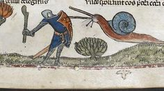 Reddit - AskHistorians - Why are there so many medieval paintings of people battling large snails?