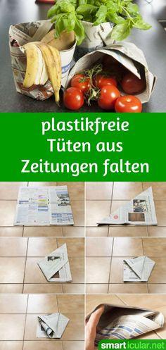 Plastiktüten wohin man nur schaut: von der Gemüsewaage, über die Kasse bis hin zur Mülltüte. Wir zeigen dir einen Trick, wie du viele Tüten einfach ersetzt!