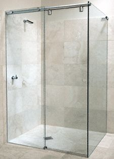 GLASS SHOWER DOOR 3/