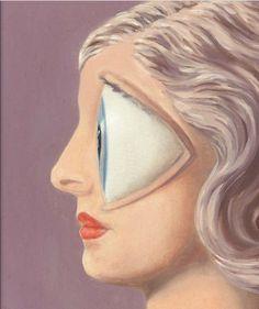 René Magritte La femme du maçon 1958
