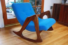 Adrian Pearsall rocking chair.