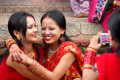 'Teej' a nepalese festival specially made for women and girls.