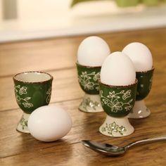 temp-tations® Set of 4 Floral Lace Egg Cups :: temp-tations® by Tara