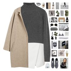 """""""Zagreb"""" by nanarachel ❤ liked on Polyvore featuring Topshop, T By Alexander Wang, adidas, Nearly Natural, Forrest & Bob, Le Labo, Byredo, Polaroid, Goody and Crate and Barrel"""