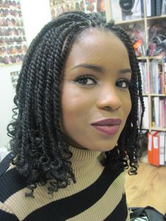 natural hair twists hairstyles 8 - pictures, photos, images