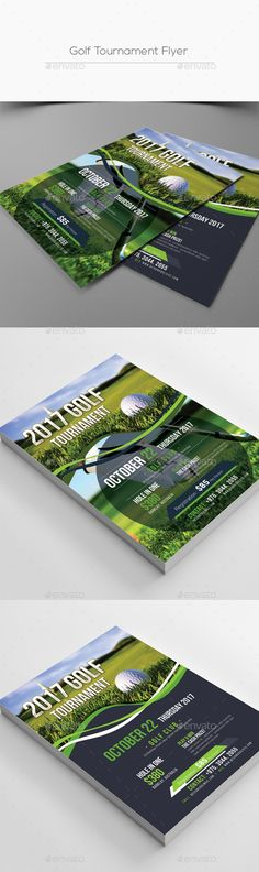 Golf Tournament Brochure  Brochure Templates