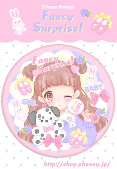 ■Baby♡Pink缶バッチ - PHOOEY SHOP