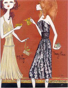 Ruben Toledo - fashion illustration