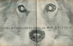 Georges de Caunes, tous les matins sur RTL  Jours de France, 4 mai 1968