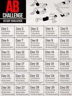 30 Day Habit Creation Challenge