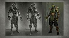 Коцепт-арты Mortal Kombat X - Mortal Kombat 10 (X) - Zobra