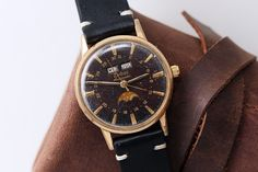 Zodiac Triple Calendar Moonphase | Vintage Watches For Sale