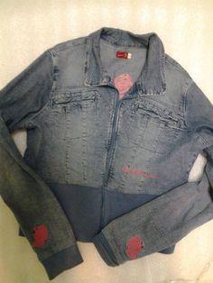 Womens size 14 XL APPLE BOTTOM Waist Length Denim Jacket  #AppleBottoms #JeanJacket