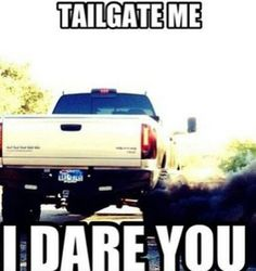 I wish I could do this everytime someone tailgates me! can't wait till I can do this!