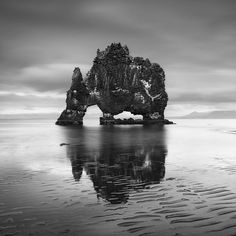 Hvítserkur, northern Iceland. by Emmanuel Coupe