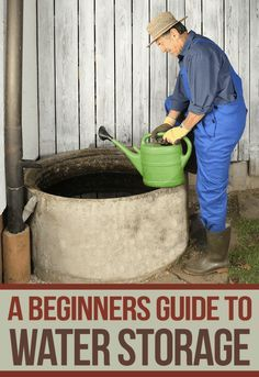 beginners guide water storage                                                                                                                                                                                 More