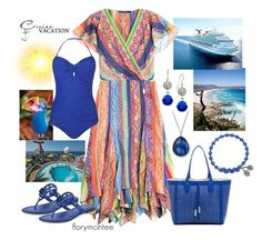 Cruise Vacation by florymcintee on Polyvore featuring Polo Ralph Lauren, Phase Eight, Tory Burch, Madden Girl, Ippolita and Charter Club