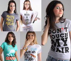 T-shirts Femininas e Divertidas!
