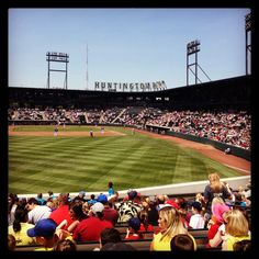 Huntington Park - the Columbus Clippers taking on the Toledo Mud Hens on Wed., June 5, 2013.