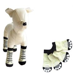 Dog Socks,Haoricu Pet Dog Socks Indoor Black Cute Cartoon Dog Non-slip Warm Socks -- Read more reviews of the product by visiting the link on the image. (This is an affiliate link) #DogsApparel
