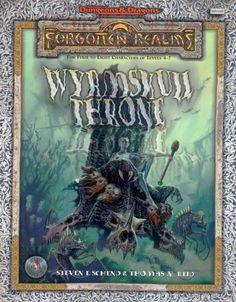 AD&D: Wyrmskull Throne ~ TSR (1999)