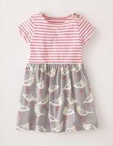 英国!Mini Bodenコットンジャージードレス