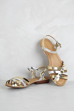 someone buy these for me. thanks!  Clementine Sandals #anthropologie