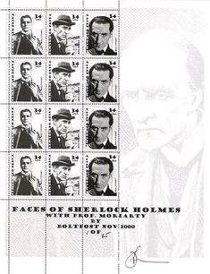 A great site for Sherlock stamps - The Philatelic Sherlock Holmes