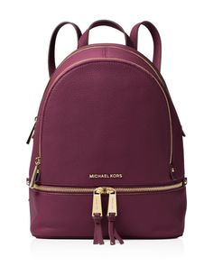 Michael Michael Kors Medium Rhea Zip Backpack