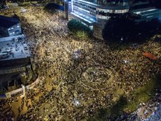 Dozens of pro-democracy demonstrators in Hong Kong arrested by the Chinese government as movement braces for second night of clashes