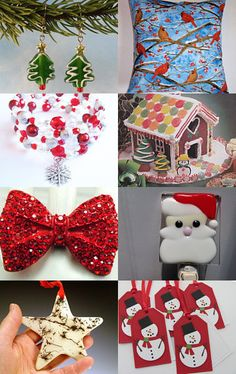 TIME TO GET READY FOR CHRISTMAS with the Bullseye Team by Ginger Clark on Etsy--Pinned with TreasuryPin.com