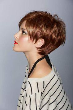 30 Short Sassy Haircuts to Add a Trendy Twist into Your Look. Krátke ÚčesyPostupné  StrihyKrátke VlasyKúpanieFarba ... d8b301633b0