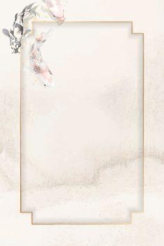 Framed Wallpaper, Flower Background Wallpaper, Graphic Wallpaper, Background Vintage, Flower Backgrounds, Watercolor Background, Wallpaper Backgrounds, Wallpapers, Japanese Design