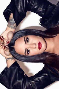 """Demi Lovato photographed by E. R. DAVIDSON (DEMI X DJ KHALED TOUR) """
