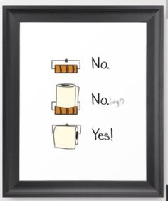 bathroom rules framed art print by cozyreverie