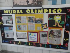 Painel Olímpico, por Ana Dias para Escola Experimental