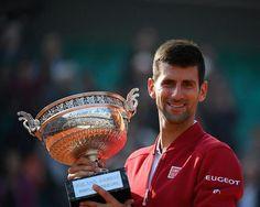 TENNIS GAME: Djokovic Beats Murray To Win First French Open