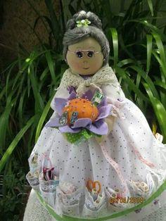 Costurero abuelita#handmade